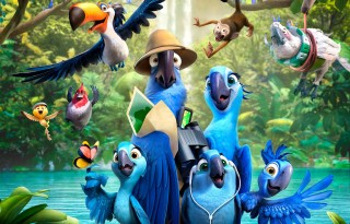 """""""Rio 2"""" (2014) - Blu-Ray Review (Target Exclusive) - We Live Film"""