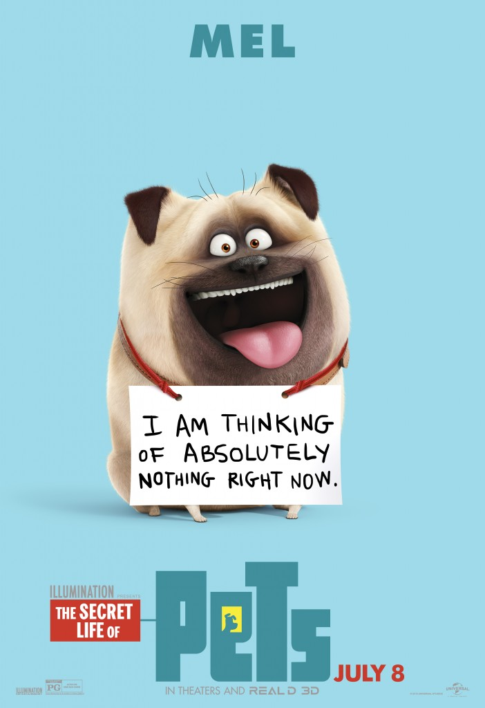 9 new posters for the secret life of pets we live