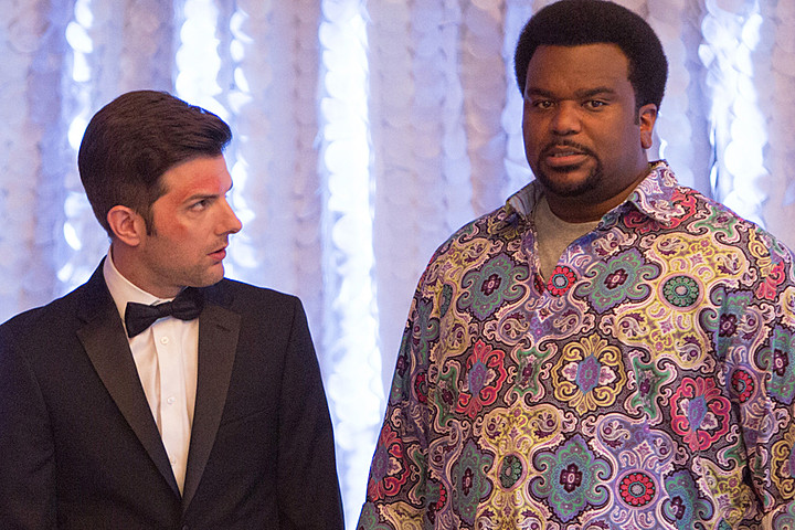 Adam Scott Craig Robinson Ghosted