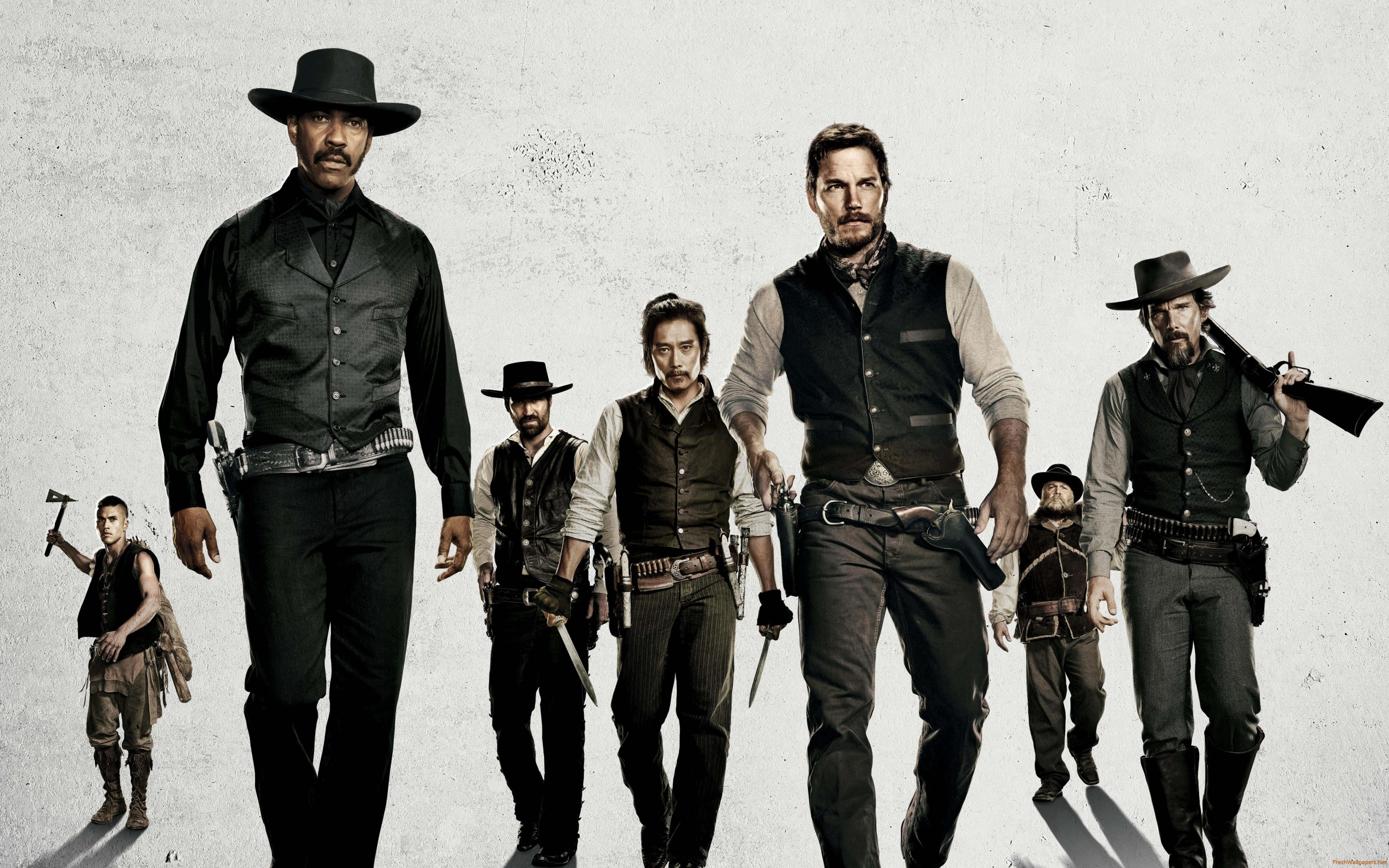 """The Magnificent Seven"" (2016) - Blu-ray News"