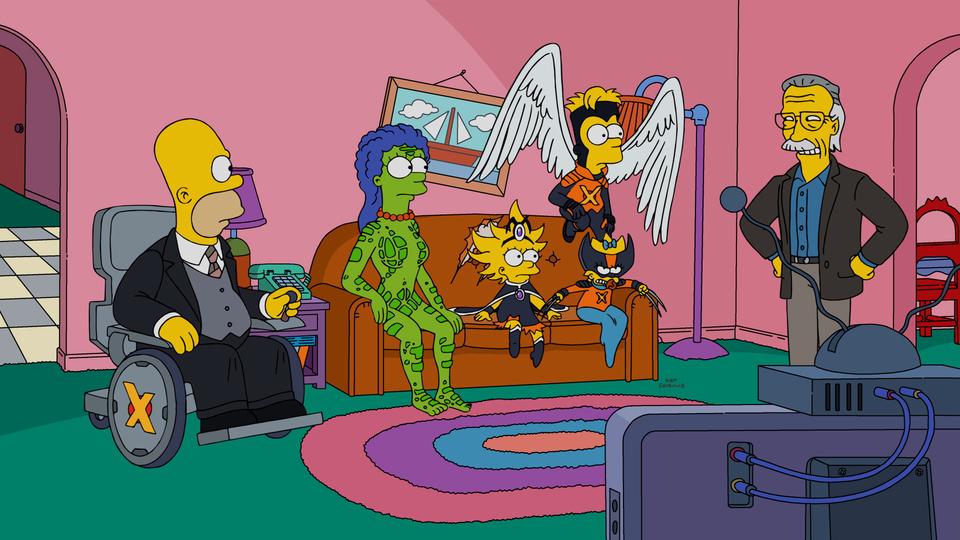 Simpsons movie spoofs