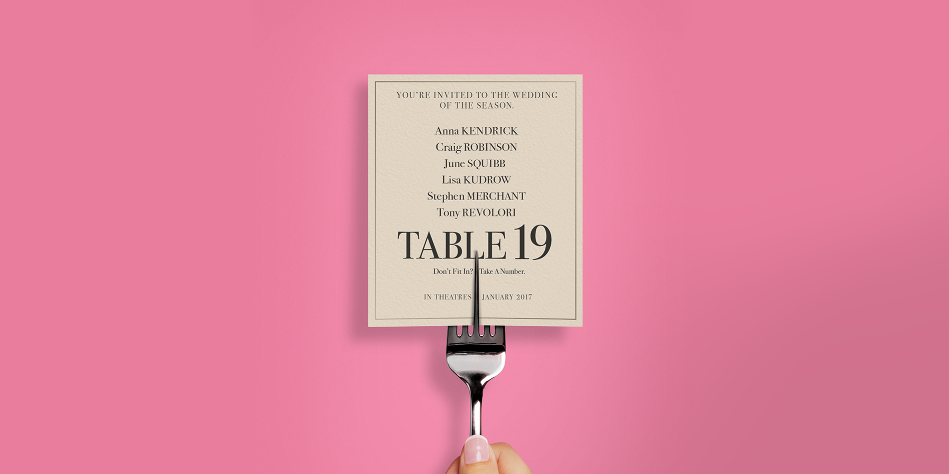 Table 19 review a who 39 s who of wedding weirdos we live for Table 19 review