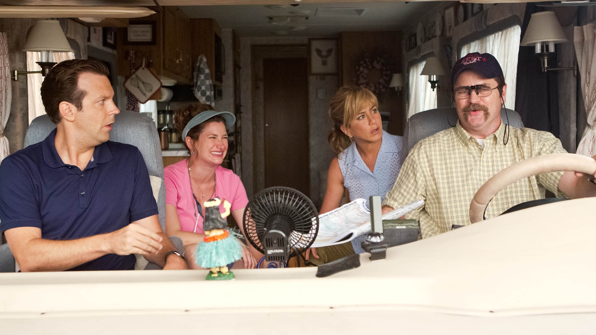 """We're the Millers"" (Jason Sudekis, Jennifer Aniston)"