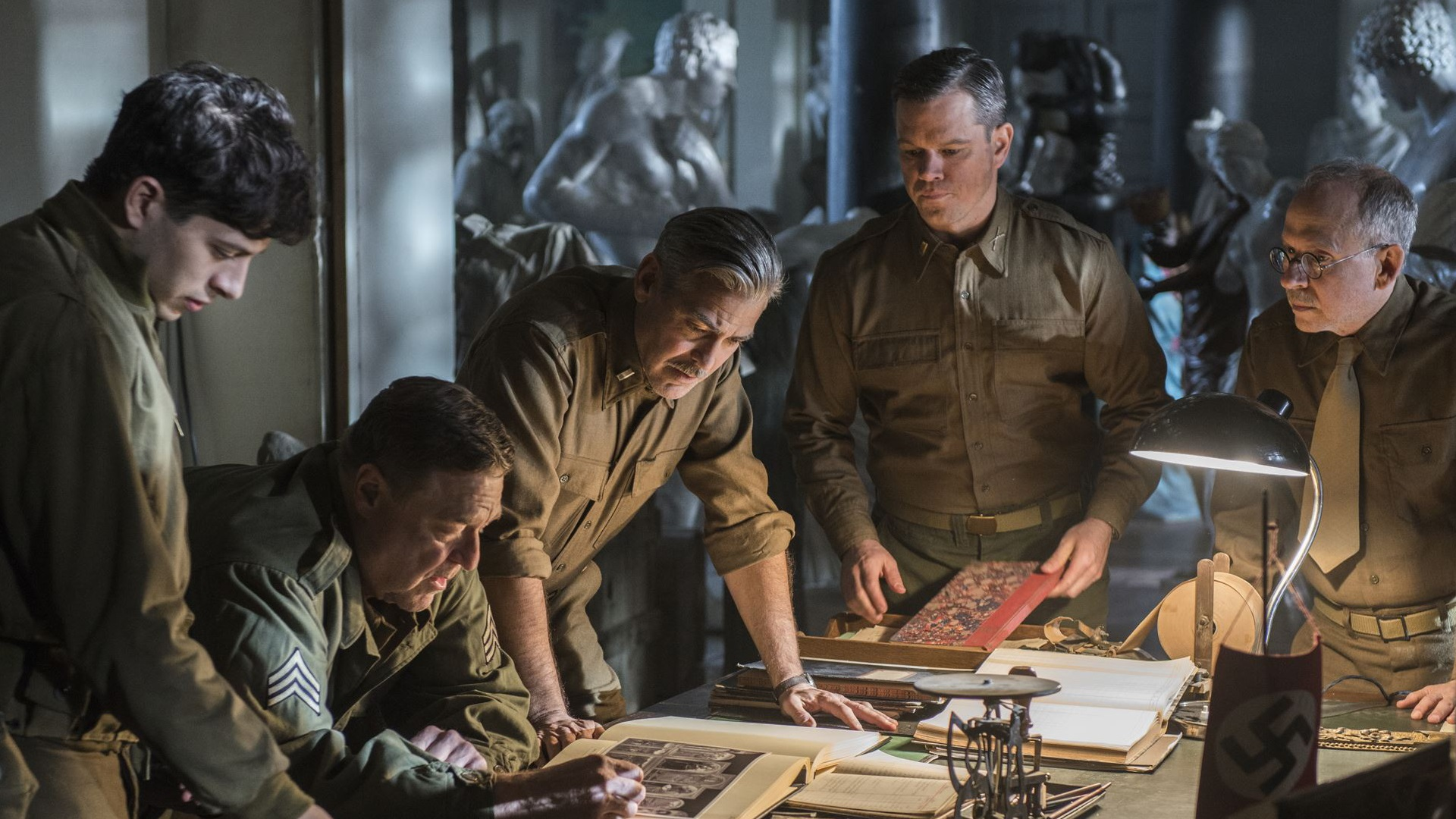 """The Monuments Men"" (2014) - Blu-ray Tuesday (We Live Film)"