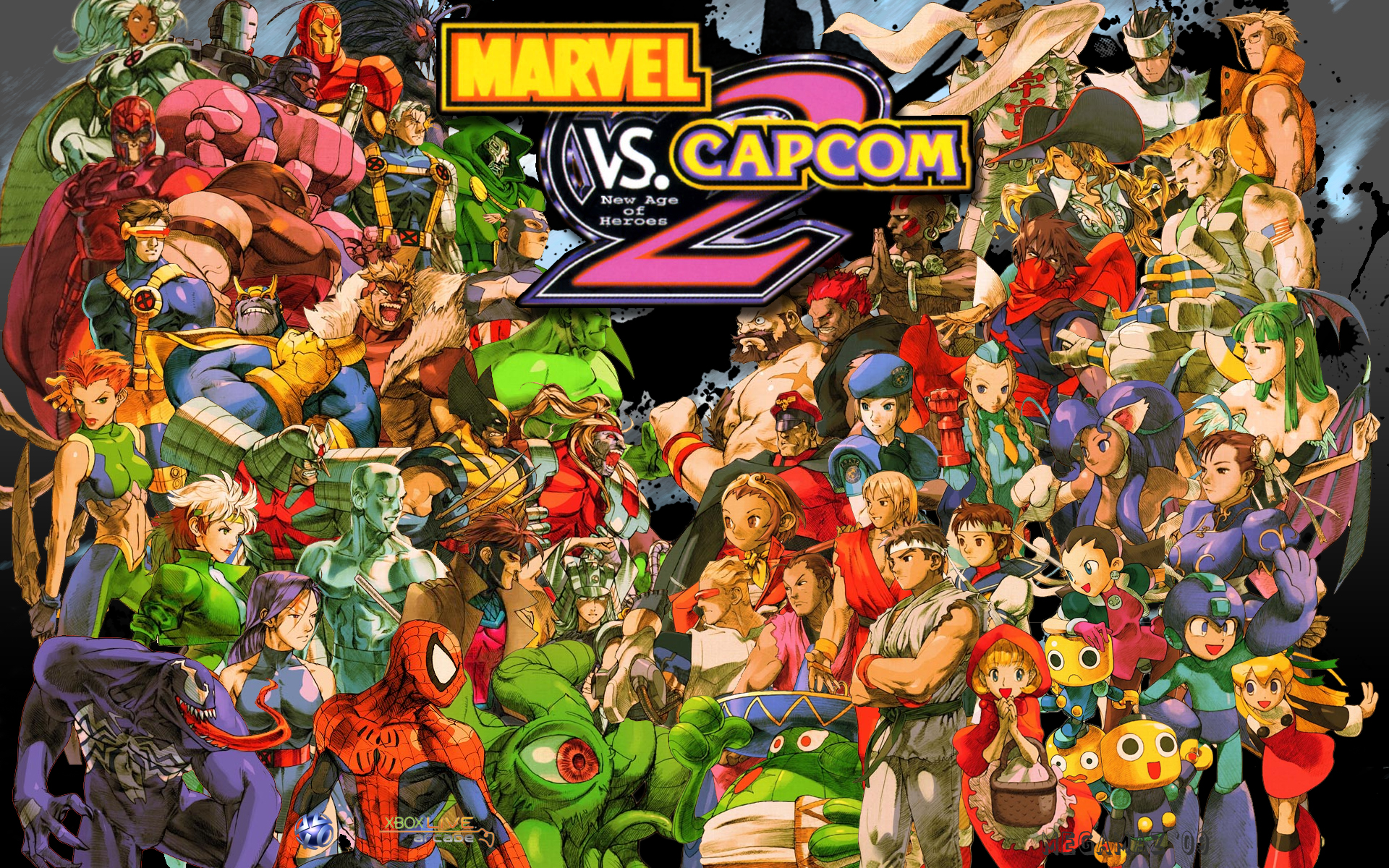 Marvel vs  Capcom 2: New Age of Heroes Review & Other Titles