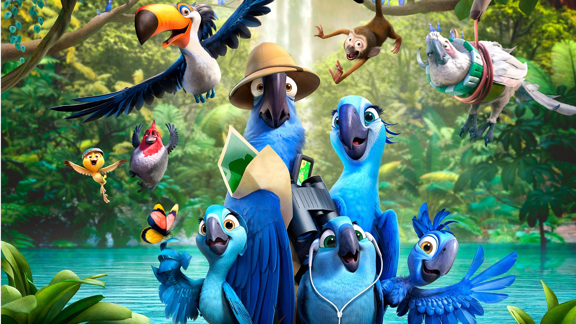 """Rio 2"" (2014) - Blu-Ray Review (Target Exclusive) - We Live Film"
