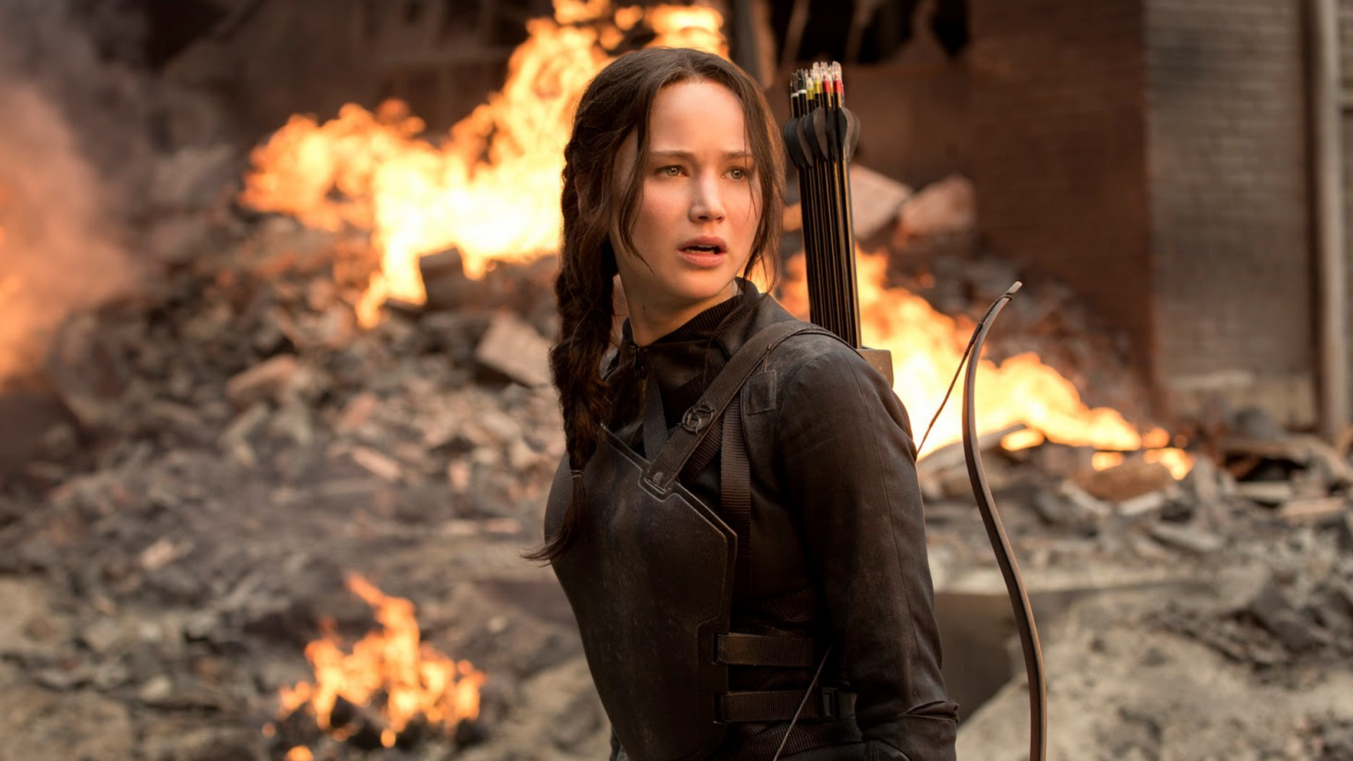 """The Hunger Games: Mockingjay - Part 1"" (2014)- Movie Review - Matt Marshall - We Live Film"