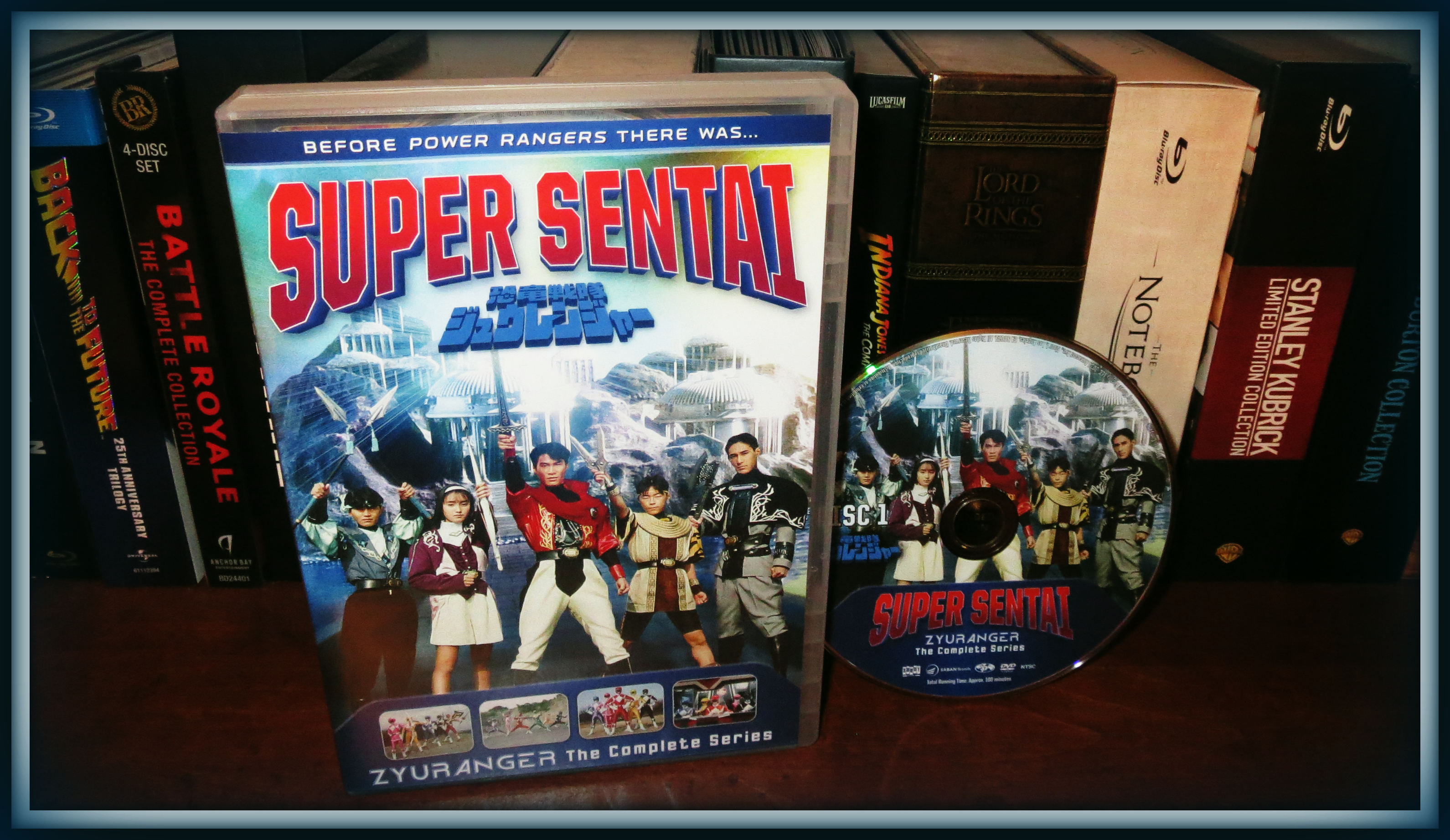 super sentai zyuranger the complete series dvd review we. Black Bedroom Furniture Sets. Home Design Ideas