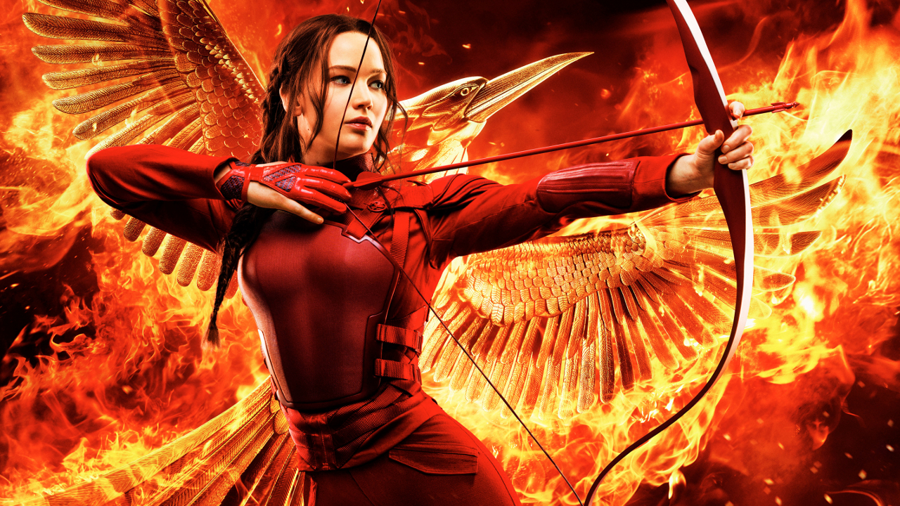 "Katniss Everdeen (Jennifer Lawrence) in ""Mockingjay - Part 2"""