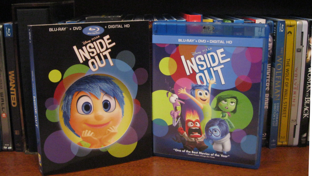 """""""Inside Out"""" Blu-ray Combo Pack"""