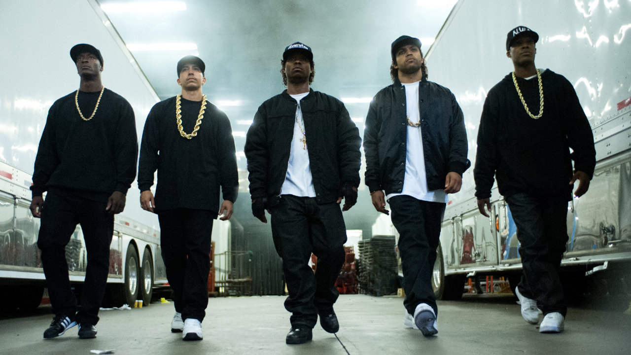 "The N.W.A. in ""Straight Outta Compton"""