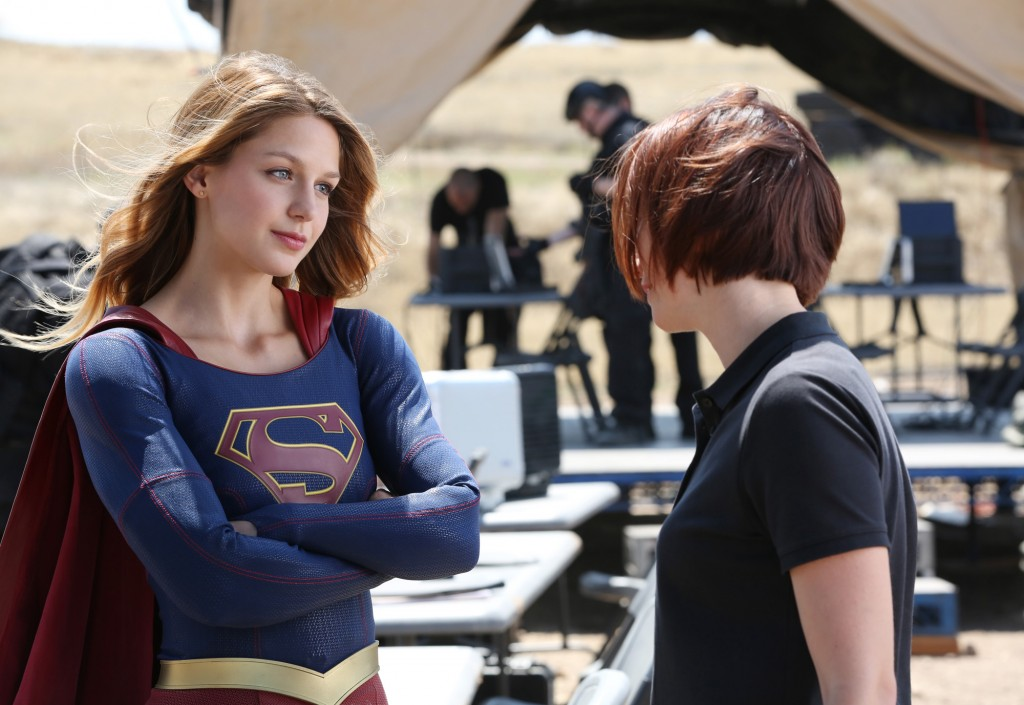Melissa Benoist stars as Kara Danvers/Supergirl in SUPERGIRL, on the CBS Television Network.