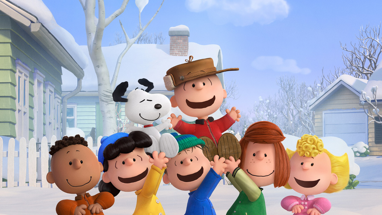 "Charlie Brown and gang in ""The Peanuts Movie"""