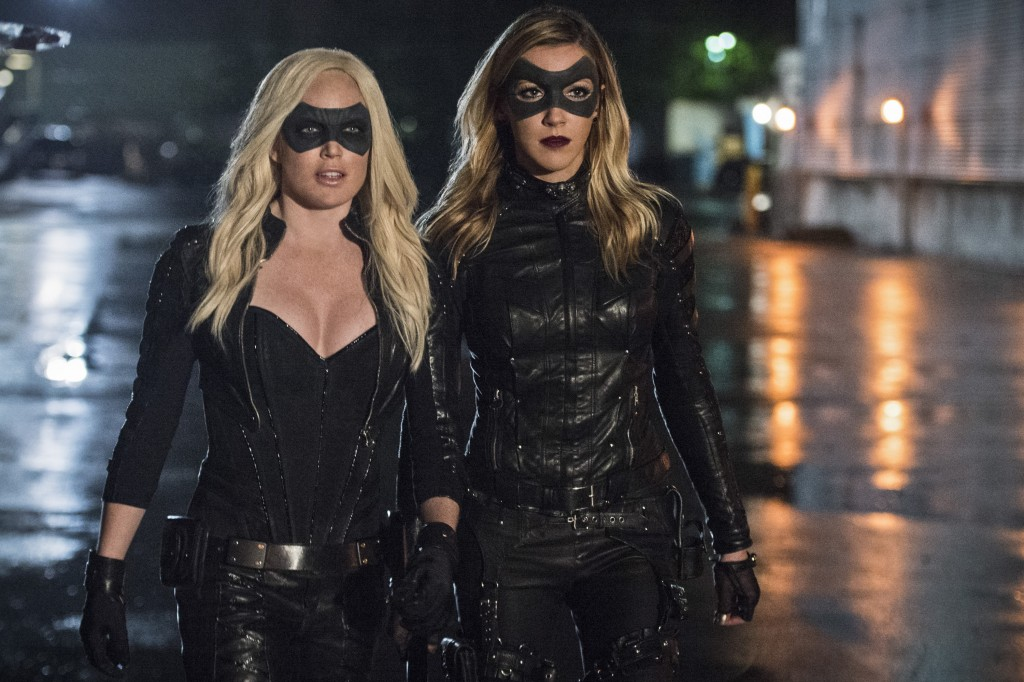 arrow Sara and Laurel