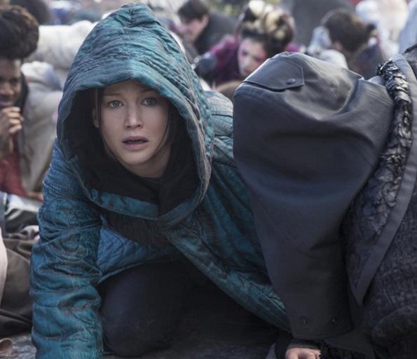 refugee scene