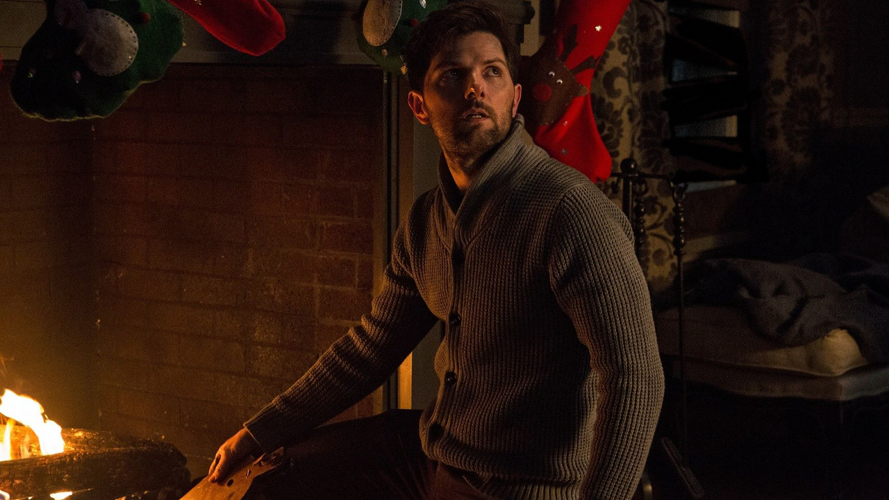 "Adam Scott in holiday horror film ""Krampus"""