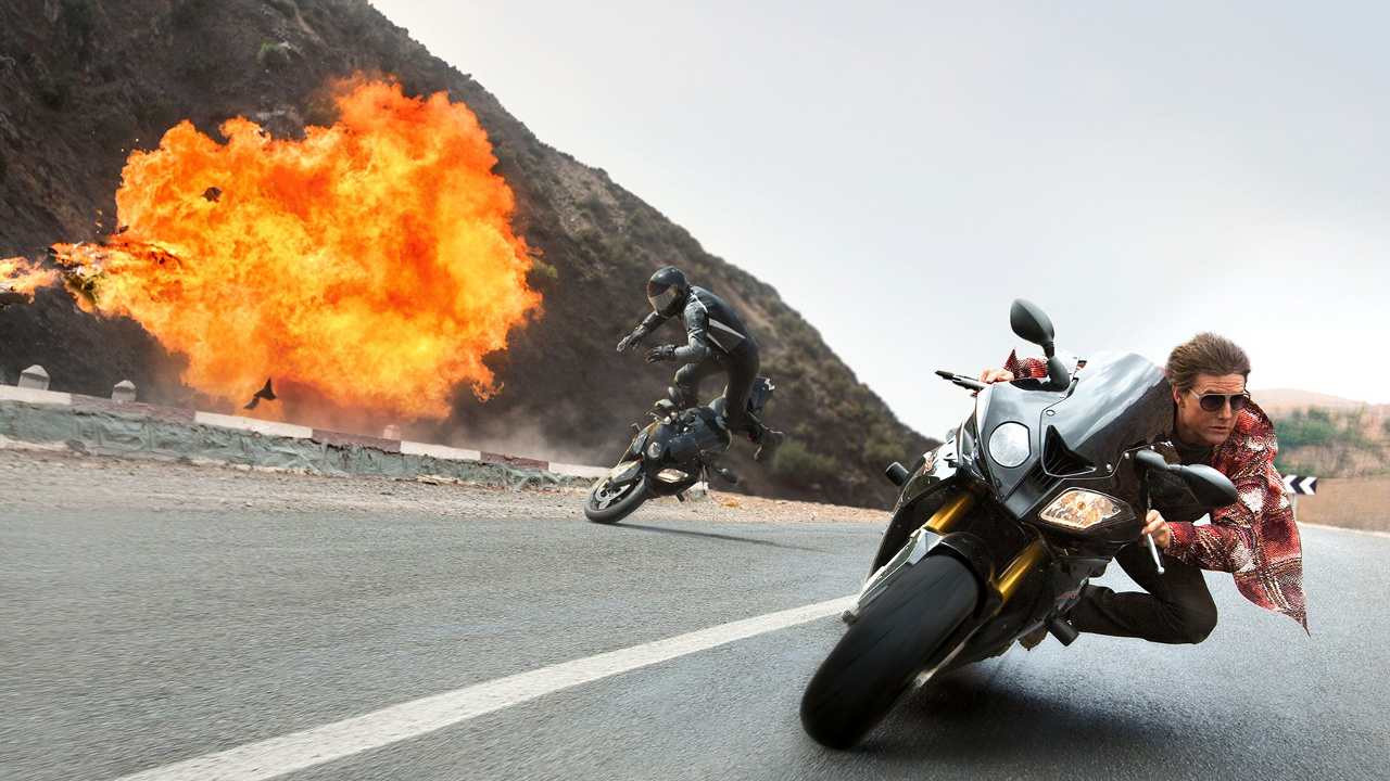 """Tom Cruise in """"Mission: Impossible - Rogue Nation"""""""