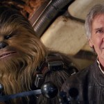 "Han Solo and Chewbacca in ""Star Wars: The Force Awakens"""