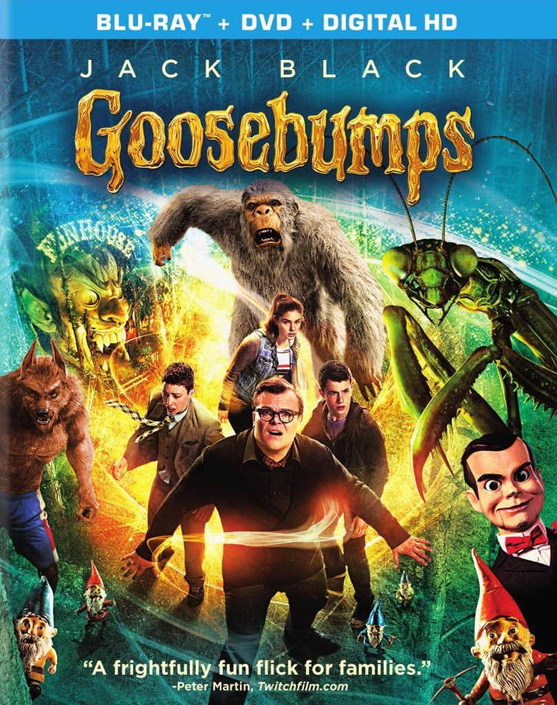 Goosebumps (Sony Pictures Home Entertainment)