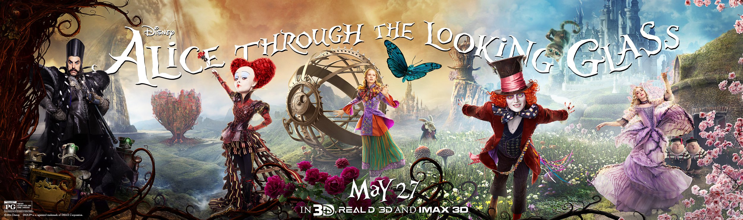 Alice Through The Looking Glass Gets Wild New Trailer And