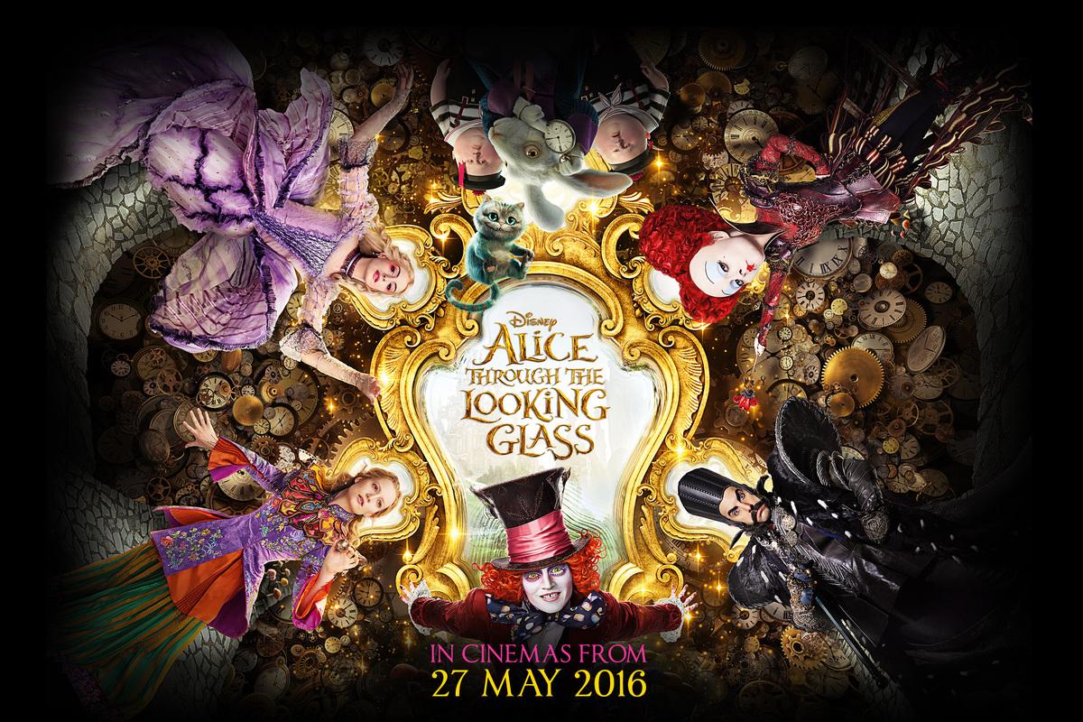 Alice in wonderland alice falling-9055