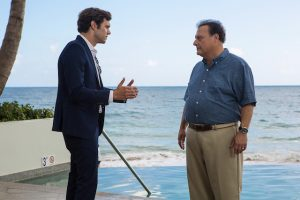 Adam Brody and Wayne Knight in StartUp (Photo: Francisco Roman/Crackle)