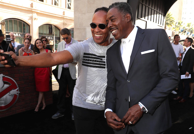 Ernie Hudson and Ray Parker Jr.