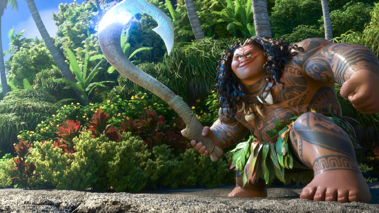 """Moana"" (2016) - Weekend Box Office"