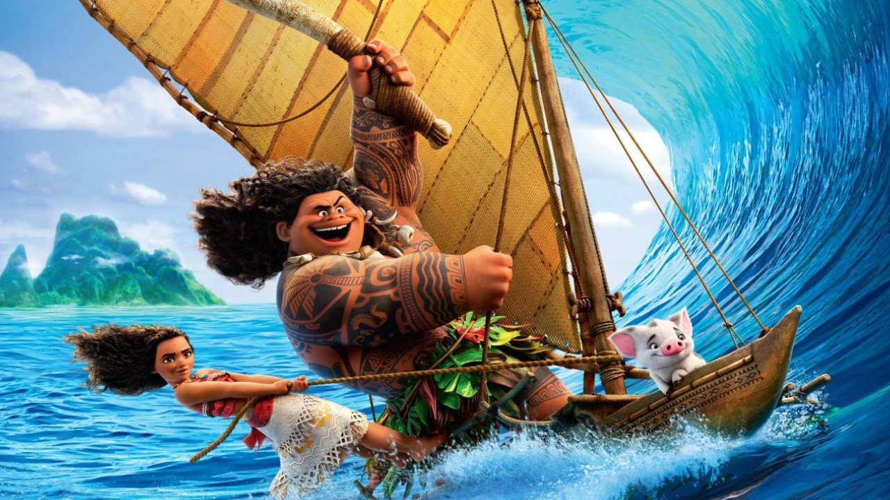 Disney Movies Hd Wallpapers: Review: 'Moana' Destined For Greatness In Disney's Second