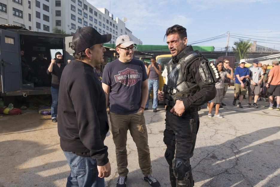 Crossbones behind the scenes