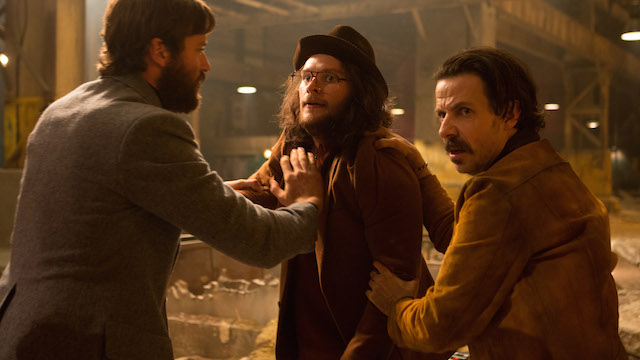 Free Fire Roundtable: Sharlto Copley and Sam Riley | We Live