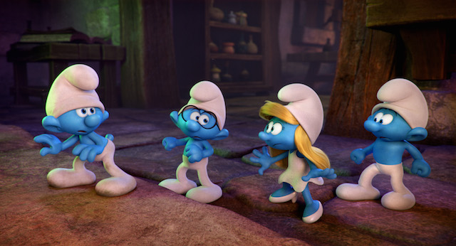 Smurfs the lost village review franchise fred disasmurfs we live entertainment - Hefty smurf the lost village ...