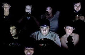 texting in movie theaters
