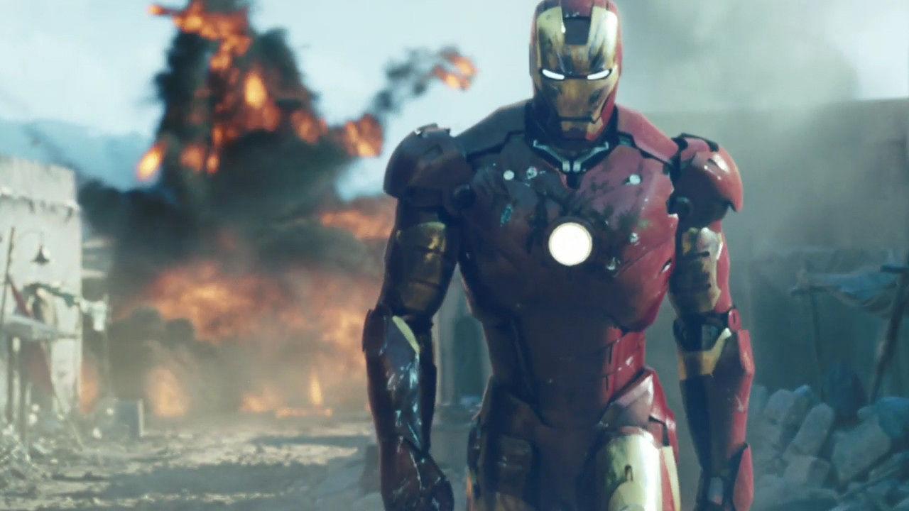 'Iron Man' (2008) - Top 5 Superhero Origin Films