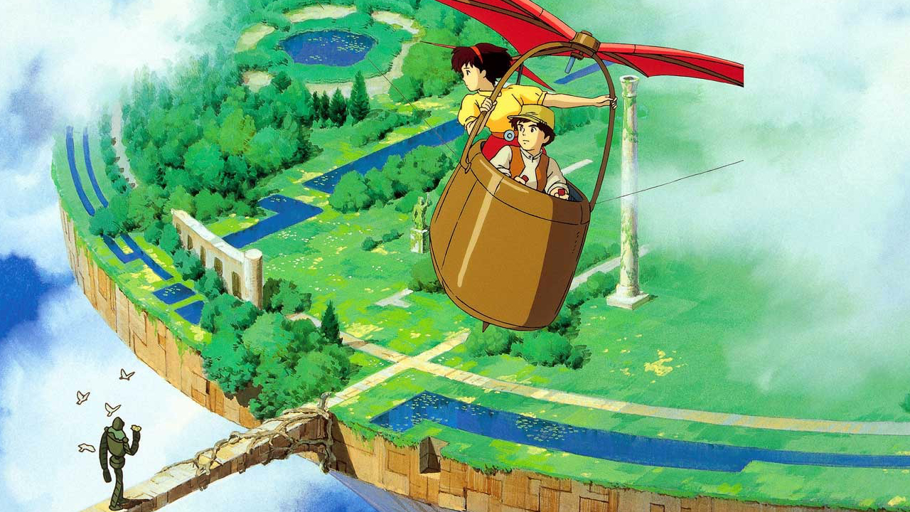 'Castle in the Sky' (1986) - Studio Ghibli