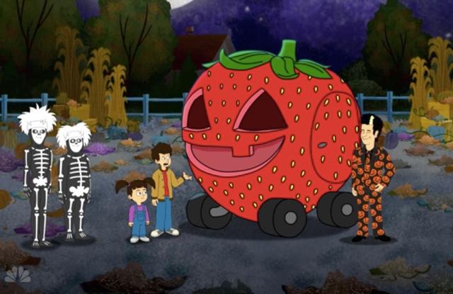 Review The David S Pumpkins Halloween Special I Had