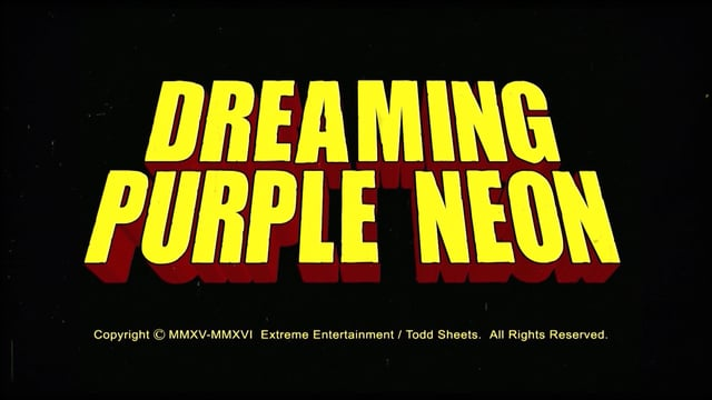 Dreaming Purple Neon