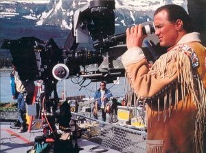 Steven Seagal behind the scenes of On Deadly Ground