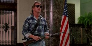 They Live bank shootout
