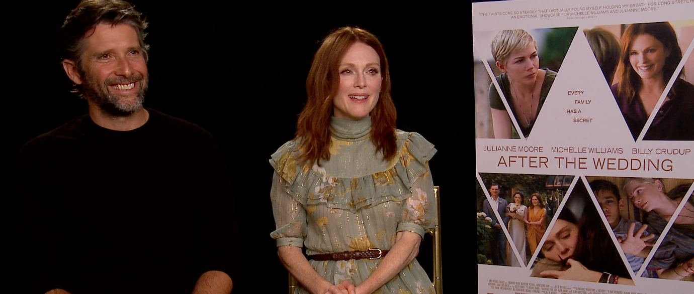 After The Wedding.Julianne Moore And Bart Freundlich On After The Wedding And