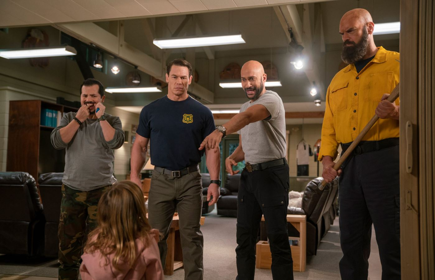 Review John Cena And Crew Spark A Few Chuckles In Playing